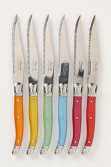 Laguiole Rainbow Knives in Box (Set of 6)