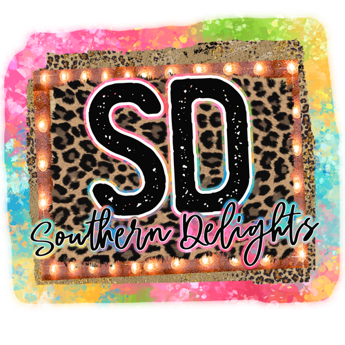 Southern Delights Sublimation Transfers