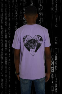Heart Design: Lavender Dawn Zwart