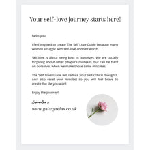 Load image into Gallery viewer, The self love guide GALAXY REALX