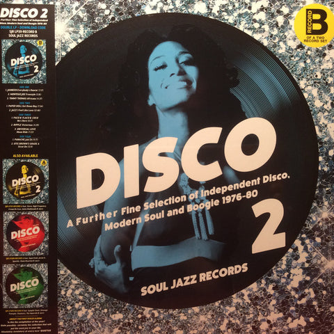 Artistes Variés • Disco 2 (A Further Fine Selection Of Independent Disco, Modern Soul & Boogie 1976-80, Disque B)