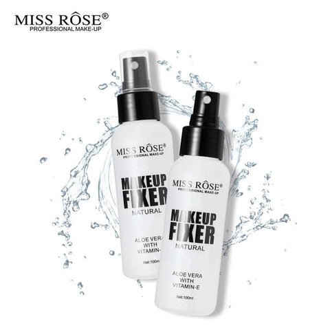 Miss Rose Professional Makeup Fixer Natural Spray for Women - 100mL