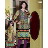 Rose Tree Multi Color Digital Printed Lawn Kurti For Women
