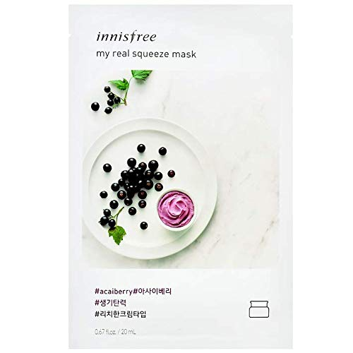 INNISFREE - My Real Squeeze Mask [Acai Berry]