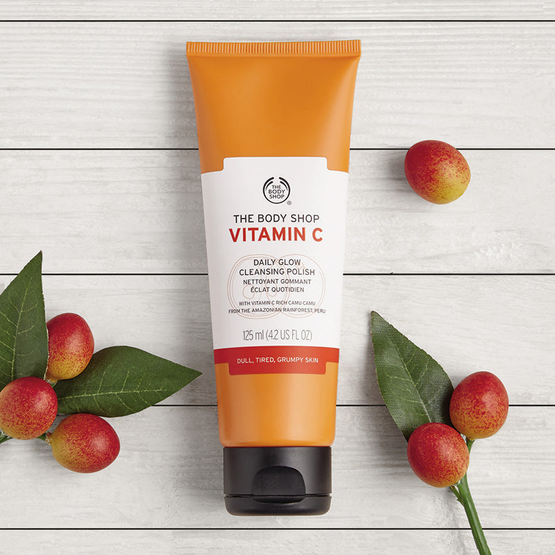 The Body Shop Vitamin C Daily Glow Cleansing Polish - 125ml