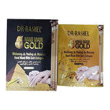 Dr.Rashel Whitening & Peeling & Moisture Hand Mask with Gold Collagen - 1Pair