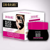 Dr.Rashel Collagen & Charcoal Black Mud Mask for Whitening Complex - 130ml - Limitlesswow