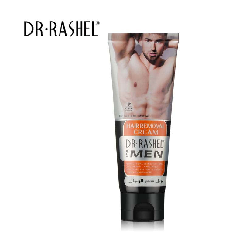 Dr.Rashel Chest Back Legs Armpit Private Area Men Hair Removal Cream Depilatory