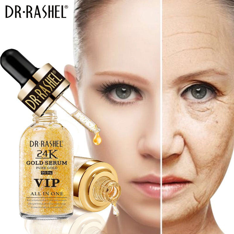 Dr.Rashel Gold Serum 99.9% VIP All In One Pure Gold - 50ml – Limitlesswow