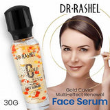 Dr.Rashel C Gold Caviar Multi Effect Renewal Face Serum for Anti Wrinkle