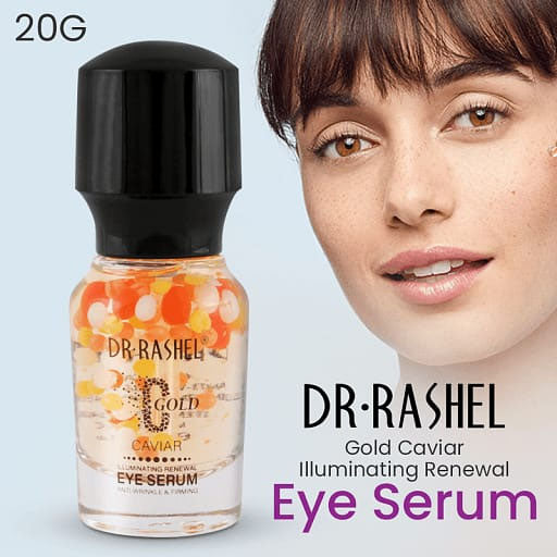 Dr.Rashel C Gold Caviar Illuminating Renewal Eye Serum for Anti Wrinkle & Firming