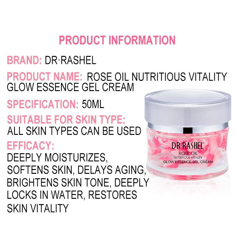 Dr.Rashel Rose Oil Nutritious Vitality Glow Essence Gel Cream