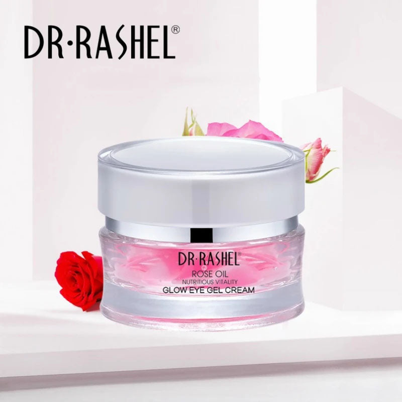 Dr.Rashel Rose Oil Nutritious Vitality Glow Eye Gel Cream