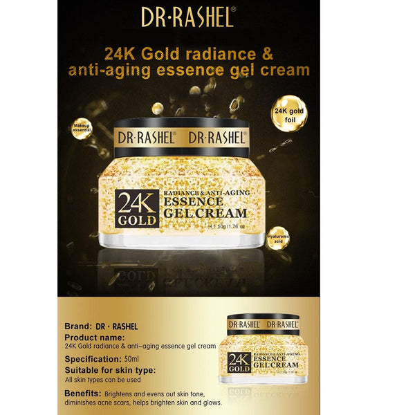 Dr.Rashel 24K Gold Radiance & Anti Aging Essence Gel Cream
