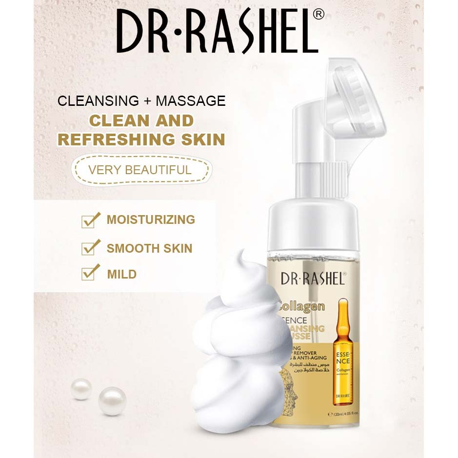 Dr.Rashel Collagen Essence Cleansing Mousse - 125ml