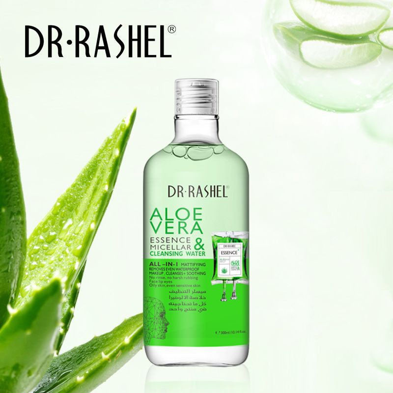 Dr.Rashel Aloe Vera Essence Micellar & Cleansing Water - 300ml –  Limitlesswow
