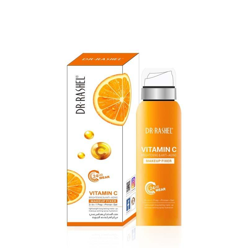 Dr.Rashel Vitamin C Brightening & Anti Aging Make up Fixer 3 in 1 Prep Primer Set