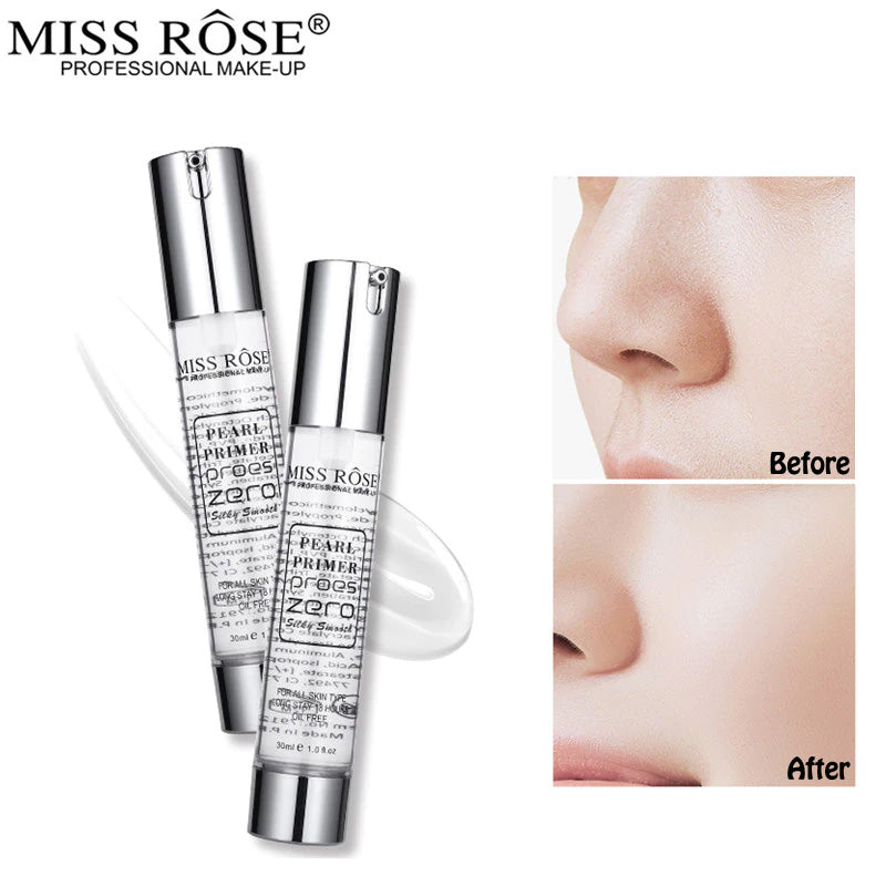 Miss Rose Pearl Primer Proes Zero Silky Smooth