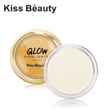 KISS BEAUTY Face Glow Highlighter Cream Palette Iluminador Eye Face Brighten White Pink Gold Shimmer Bronzer Contour Makeup