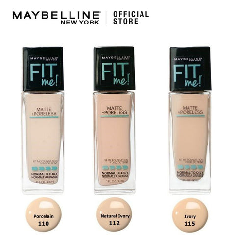 Maybelline Fit Me Matte & Poreless Liquid Foundation - 30ML