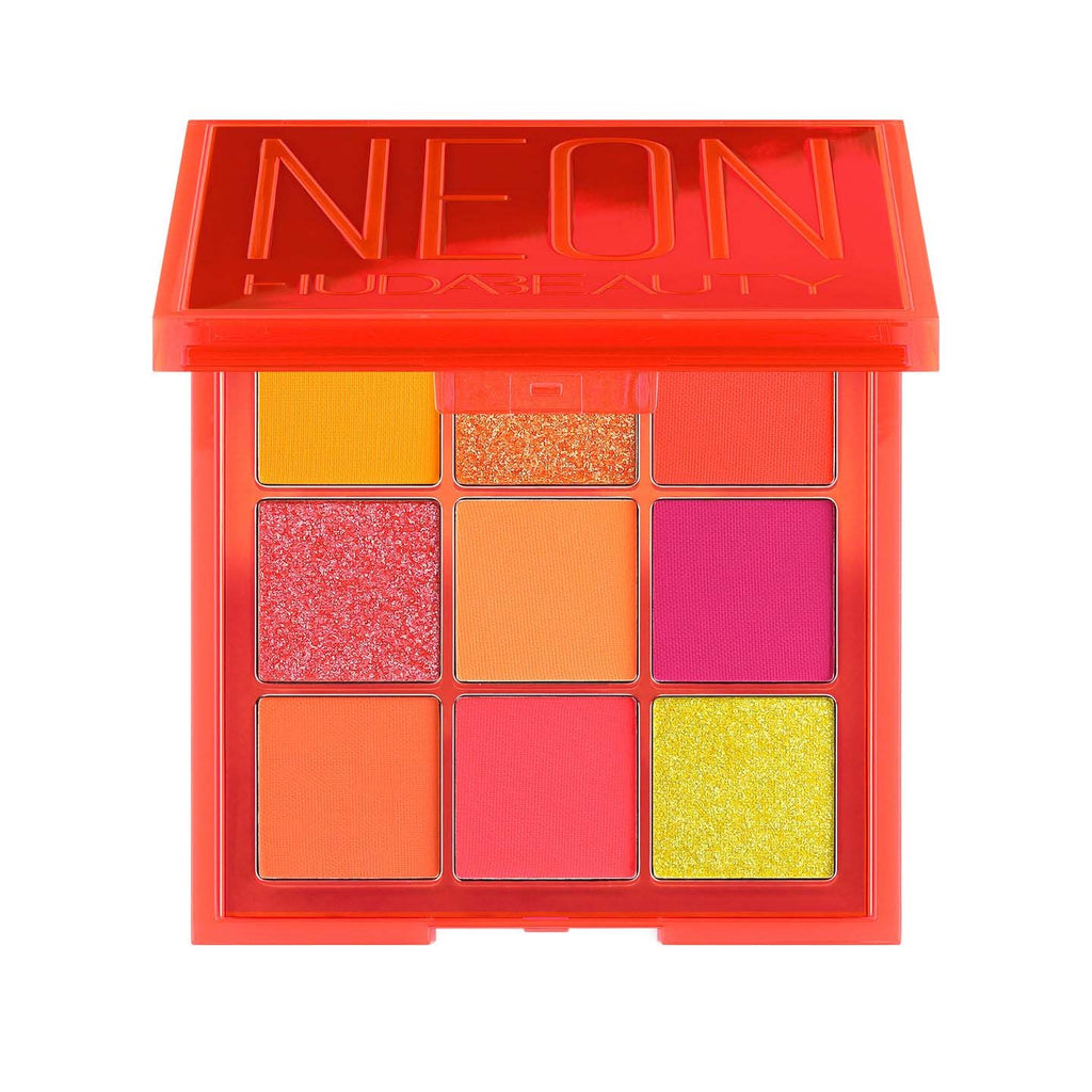 Huda Beauty Pressed Pigment Palette Neon Orange Obsessions