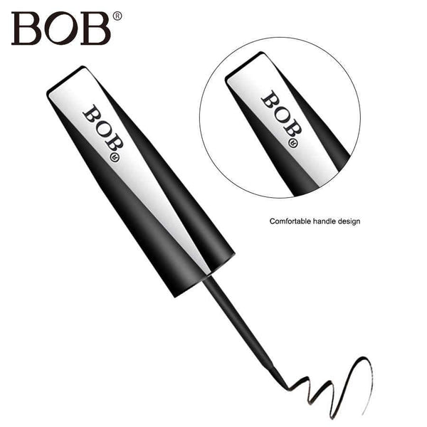 BOB Brand Eyeliner Gel Black Eyeliner Stamp Silk Eye Liner Pencil Waterproof Liquid Long Lasting