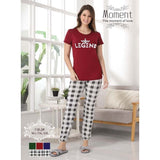 Moment 2 Piece Nightwear – Pajama & Shirt for Girls & Women