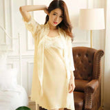 2 Piece Silk Nightwear & Lingerie for Girls & Women
