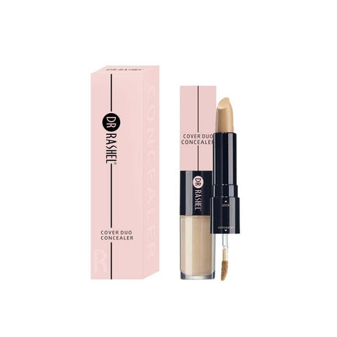 Dr.Rashel Cover Duo Concealer 2 in 1 Matte Stick & Illuminating Liquid for Girls & Womens