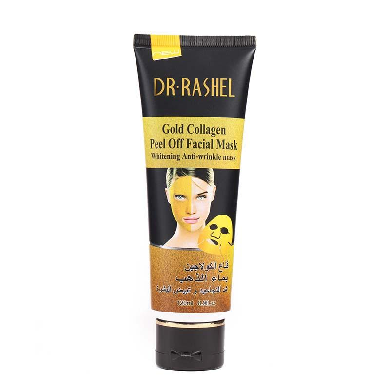 Dr.Rashel Gold Collagen Peel Off Facial Mask for Whitening & Anti Wrinkle Skin - 120ml
