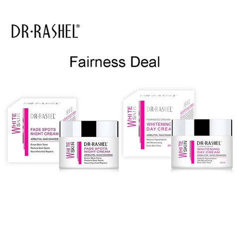 Dr.Rashel White Fade Spot Night Cream + Whitening Day Cream - Pack of 2