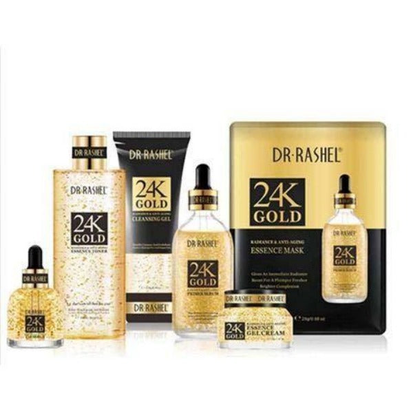 Dr.Rashel 24K Gold Radiance & Anti-Aging Series - Pack of 6