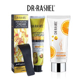 Dr.Rashel Hair Removal Cream + Vitamin C Whitening Cream for Private Parts - Pack of 2