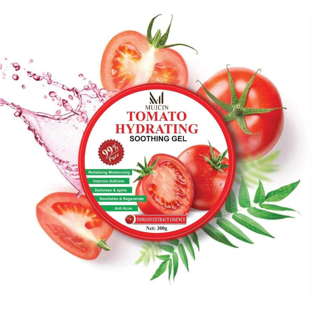 Muicin Tomato Hydrating Soothing Gel for Face & Body - 300g