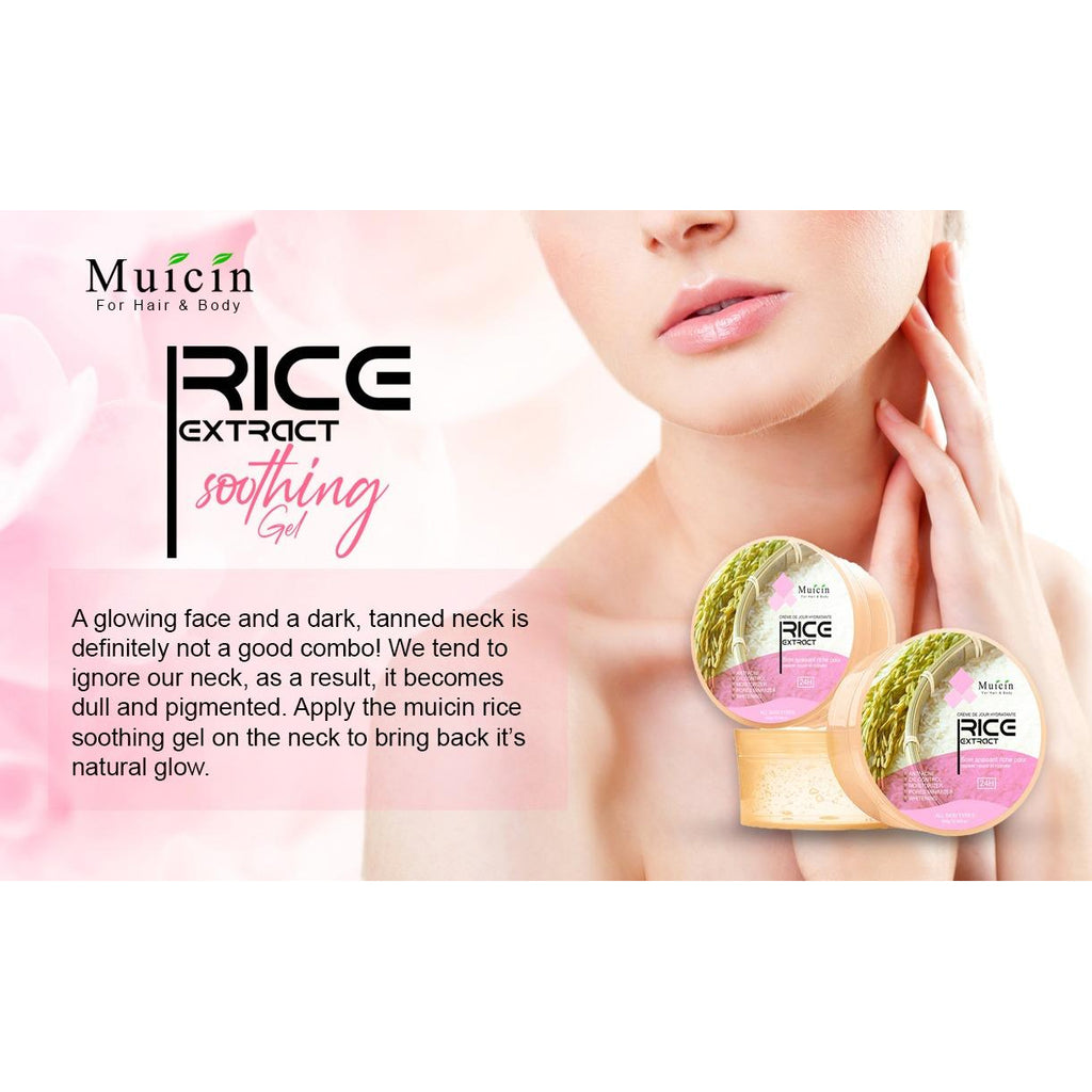 Muicin Rice Extract Soothing Gel for Body & Hair - 300g