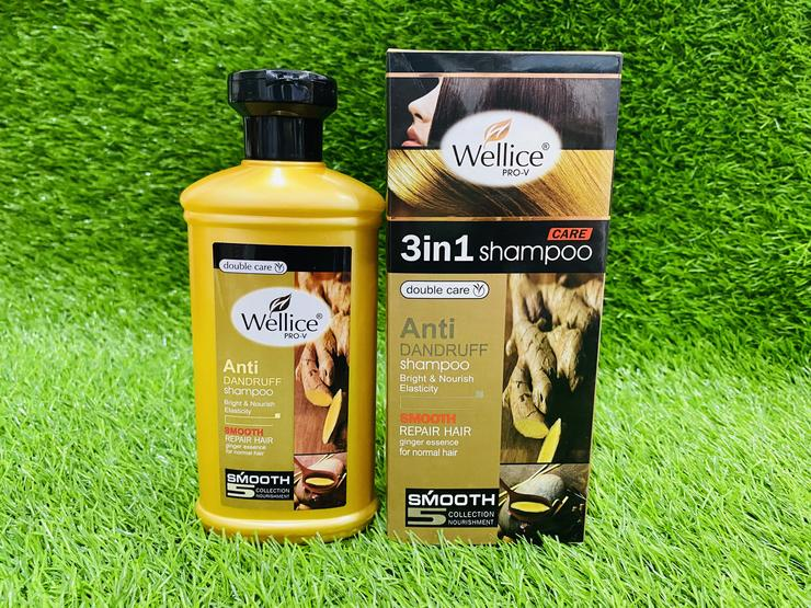 Wellice Care 3 In 1 Ginger Shampoo
