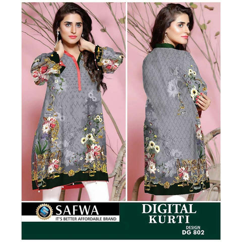 Safwa Digital Print Kurti Collection - DG-802