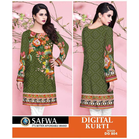 Safwa Digital Print Kurti Collection - DG-804