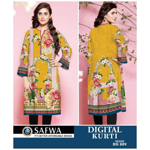 Safwa Digital Print Kurti Collection - DG-809