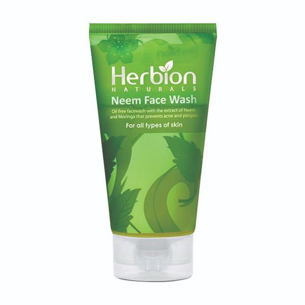 Herbion Naturals Neem Face Wash for all Type of Skin - 100ml - Limitlesswow