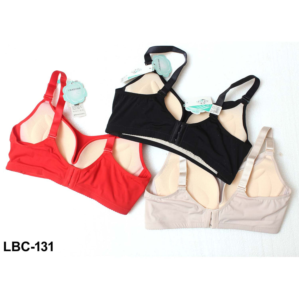 Xinxiu Comfortable Natural Rubber Padded Bra for Perfect Fitting for Girls & Women - Pack of 3