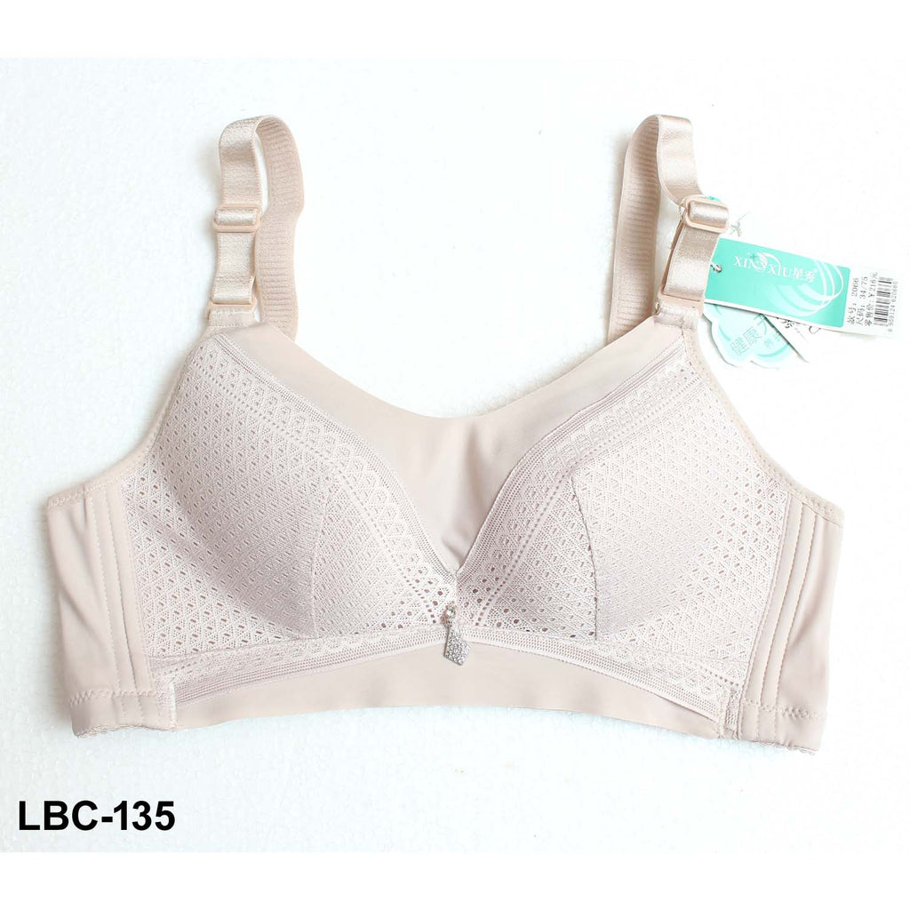 Xinxiu Comfortable Natural Rubber Padded Bra Cup B for Perfect Fitting for Girls & Women