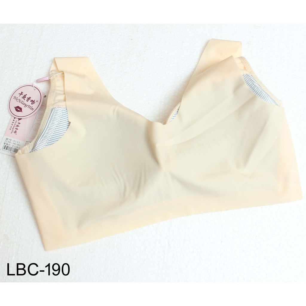 Wu Ye Xiang Wen Comfortable Padded Supreme Quality Minimizer Bra Cup B for Girls & Women - Limitlesswow