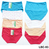 Youya Modal Comfortable High waist Printed Panties for Girls & Women - Pack of 4