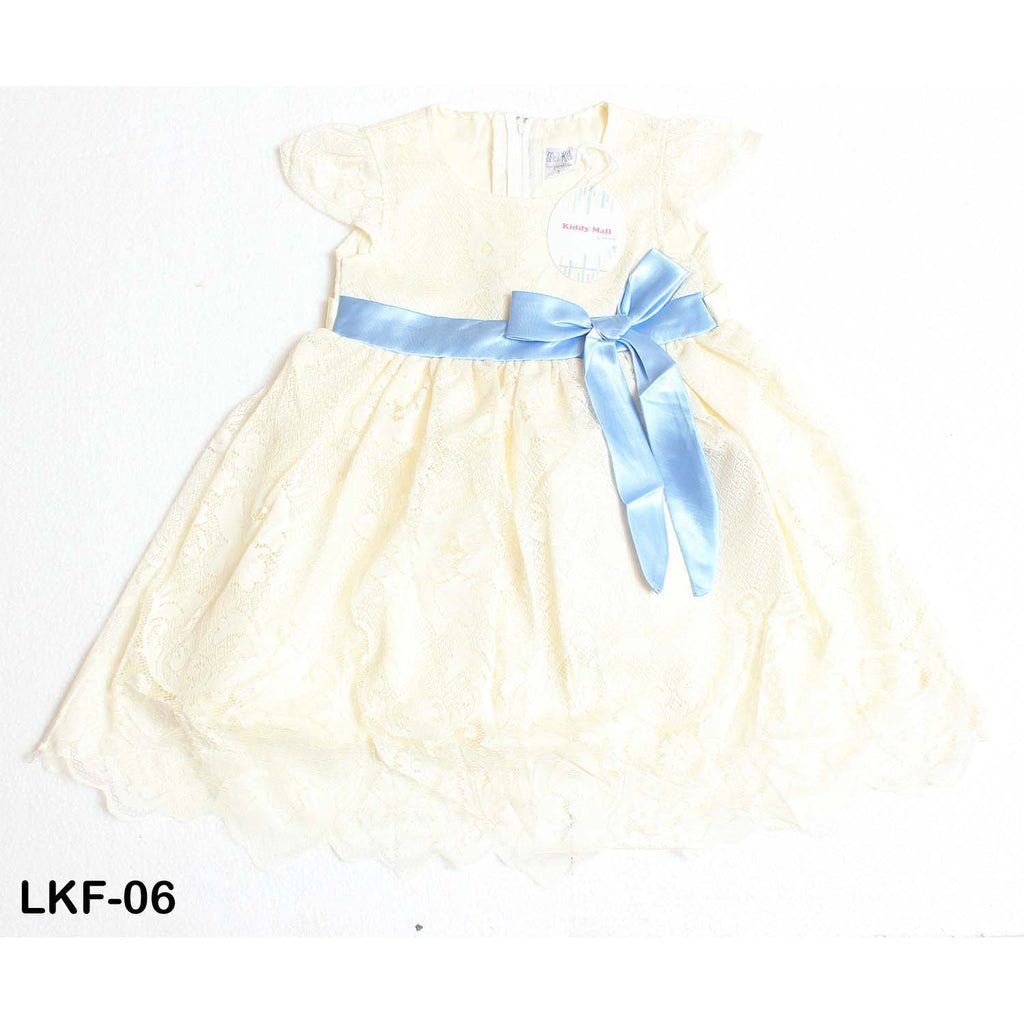 Mall Kids Mesh Party Dress with Bow Tie for Baby Girls - Limitlesswow