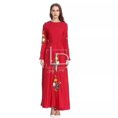 Lollypop Embroidered Maxi for Girls & Women - LP-027