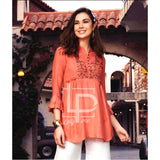 Lollypop Embroidered Frokh Style Kurti for Women & Girls - LP-048