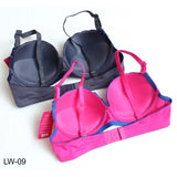 Lubna's Comfortable Push up Padded Supreme Quality Bra Cup B for Girls & Women - Pack of 2 - Limitlesswow
