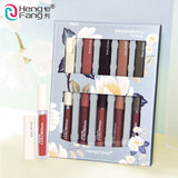 Hengfang Magnificent Smoothing Light And Persistent Coloring Girls Lip Gloss Set