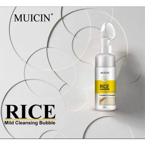 Muicin Mild Cleansing Bubble Foaming Cleanser With Rice 120 ML